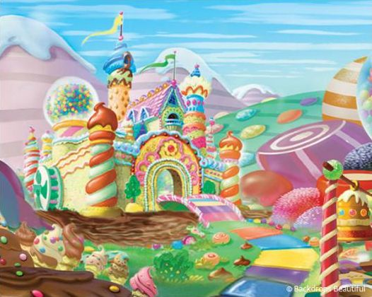 8th grade dance ideas on pinterest candy land dance for Candyland wall mural